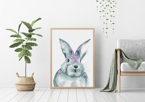 'JUNIPER' Rabbit Fine Art Print