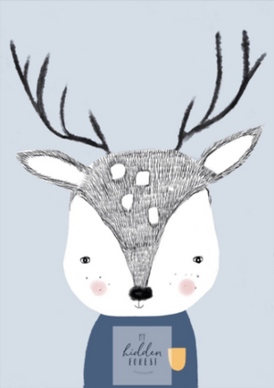 Douglas the Deer - Fine Art Print