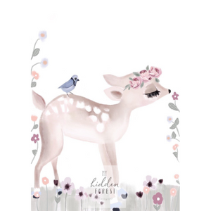 Faith the Fawn - Fine Art Print