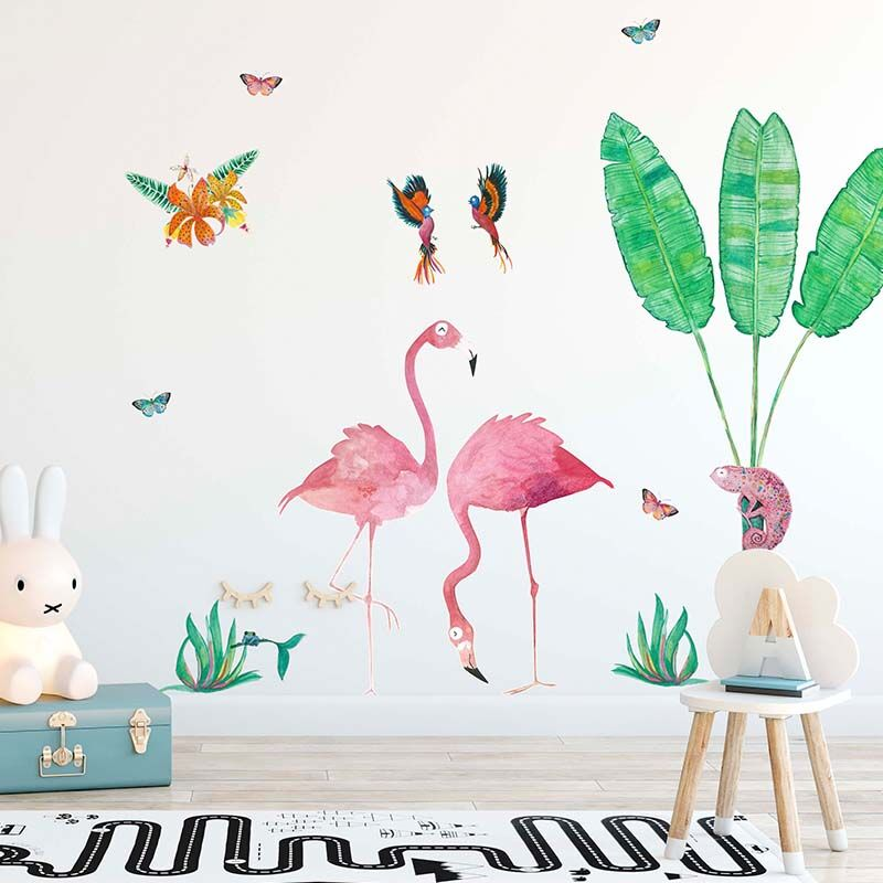 Ready to go Jungalow Decals - Flamingo Set