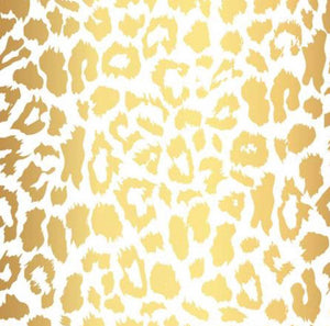 LUXE LEOPARD Couture fitted sheet/Pillowslip (Cot, single or KS)