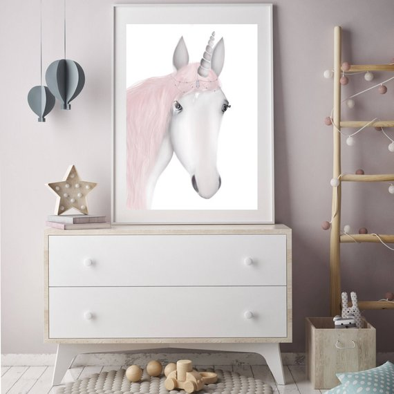 Miss Unicorn - Fine Art Print - My Hidden Forest