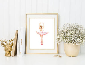 Ballet Dancer Art print - A4 or A3