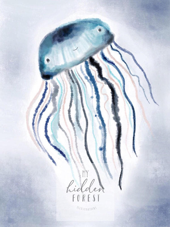 Jack the Jellyfish - Fine Art Print