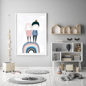 Sibling Love - Fine Art Print - My Hidden Forest