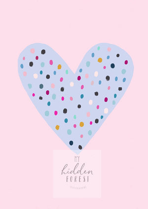 Confetti Love - Fine Art Print - My Hidden Forest