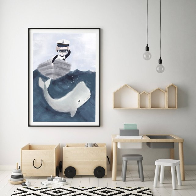 WHALE WATCHING - Fine Art Print