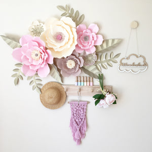 Giant Whimsical Paper Flowers - 5 different combinations
