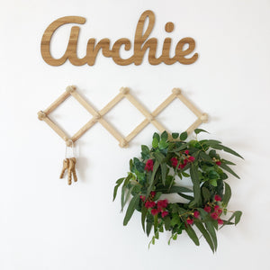 Bamboo Wall Names - 8 Fonts  - Large or Medium - Aus orders only