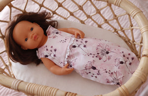 Herbaceous dolls sleeping bag