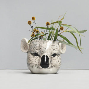 Ceramic Koala planter Vase -on sale $14