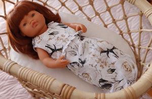 Iceberg rose doll sleeping bag