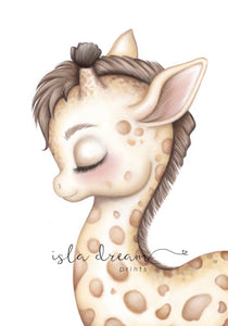Gerald the Giraffe - Fine Art Print
