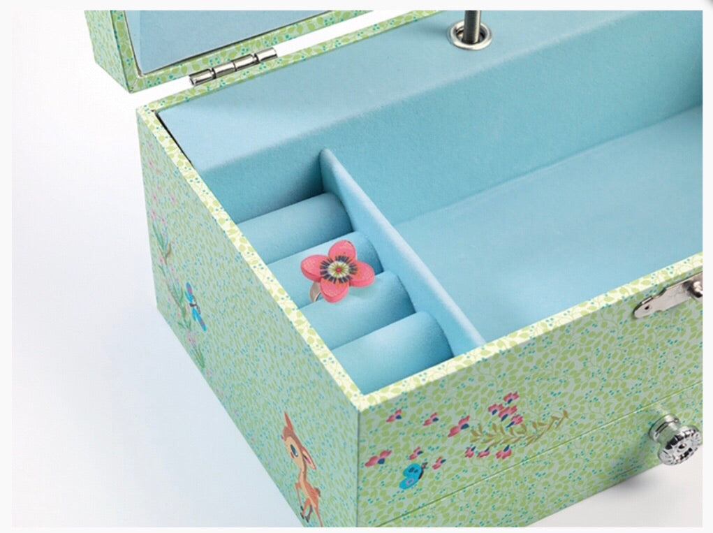 Half price!!!The fawns song jewelry box now $20