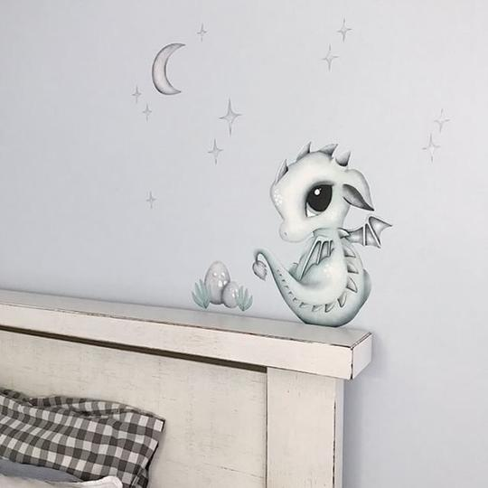 Wall Decals – Dex the Dragon