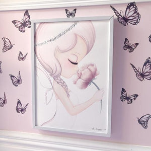 WALL DECALS A3 -BUTTERFLIES - PINK