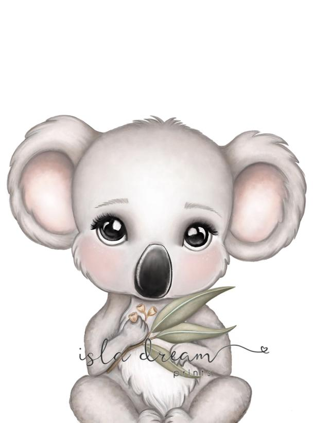 Euca the Koala Boy - Fine Art Print