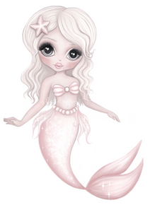 JEWEL- Mermaid Fine Art Print