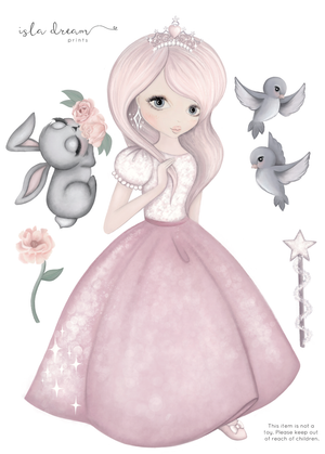 Wall Decals – MOONLIGHT THE PRINCESS