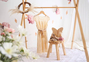 Kids Wooden Chair – Bella Butterfly $85.00