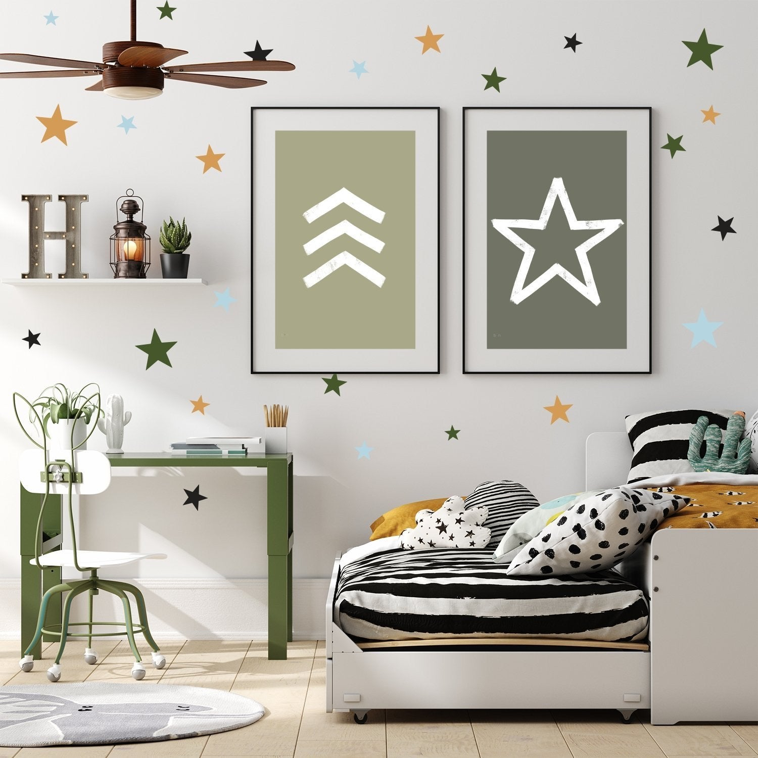 All Star Wall Decals