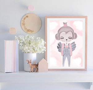 Coco the Monkey - Fine Art Print