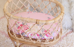 Amelia blooms fitted Basinett sheet - standard size