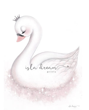 Angel the Swan - Fine Art Print