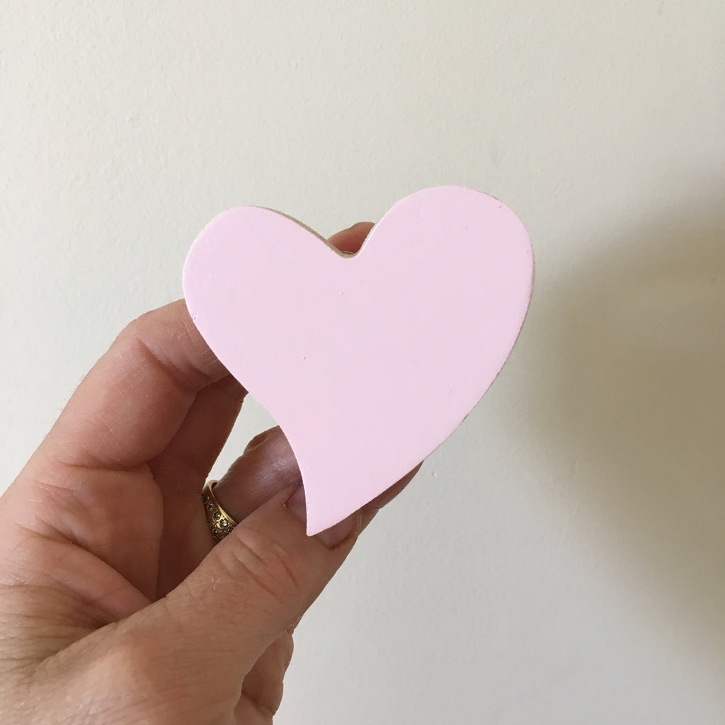 Ballerina pink heart Wall Hook