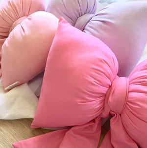 Whimsical Bow Cushions- $39 ready to ship