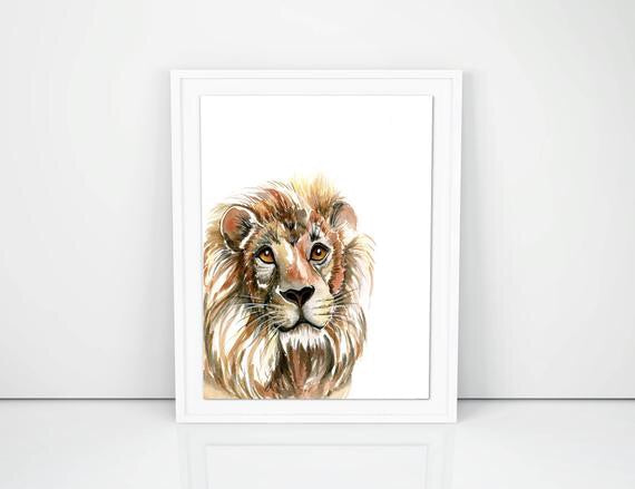 The friendly Lion A4
