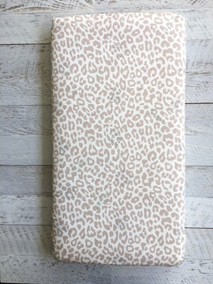 LUSCIOUS LEOPARD Couture fitted sheets / Pillowslip (Cot, single or KS)
