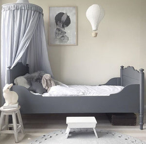 PRE-ORDER Round Canopy - Soft Grey