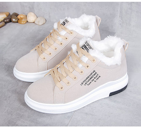 Cotton Winter Shoes For Women