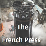 fresh french press coffee