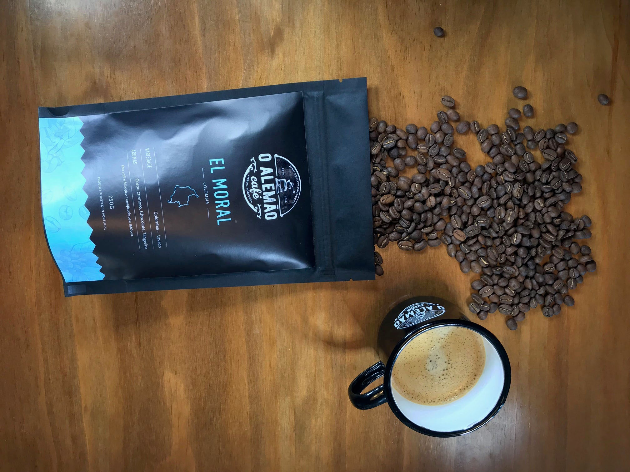 El Moral - organic coffee from colombia