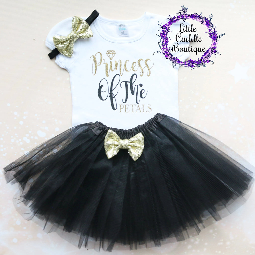 Princess Of The Petals Girl Tutu Outfit