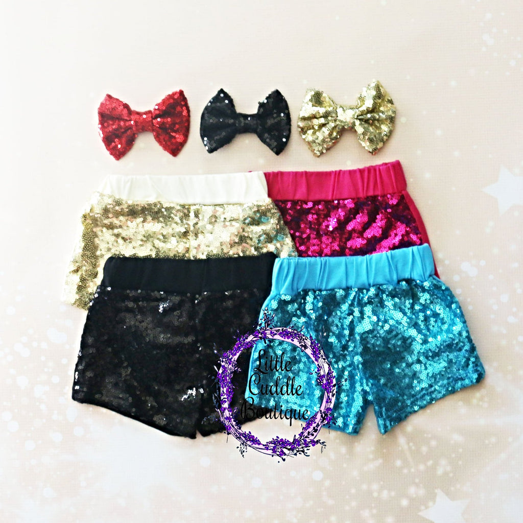 Baby Sequin Shorts