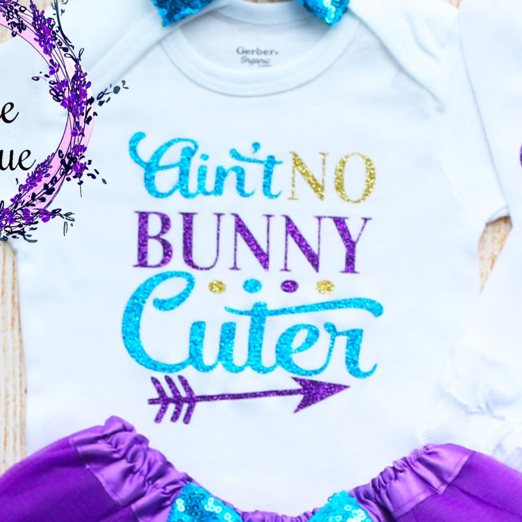 Ain't No Bunny Cuter Baby Tutu Outfit