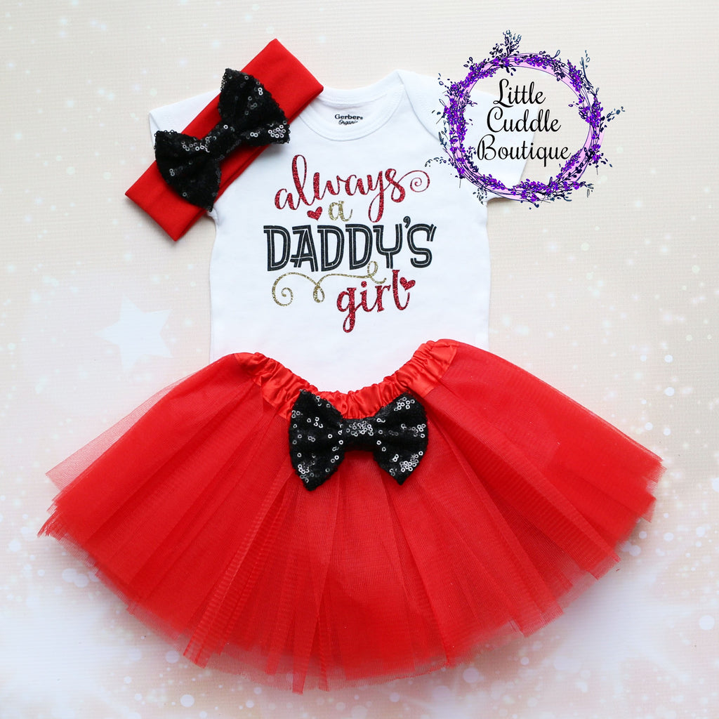 Always A Daddy's Girl Tutu Outfit