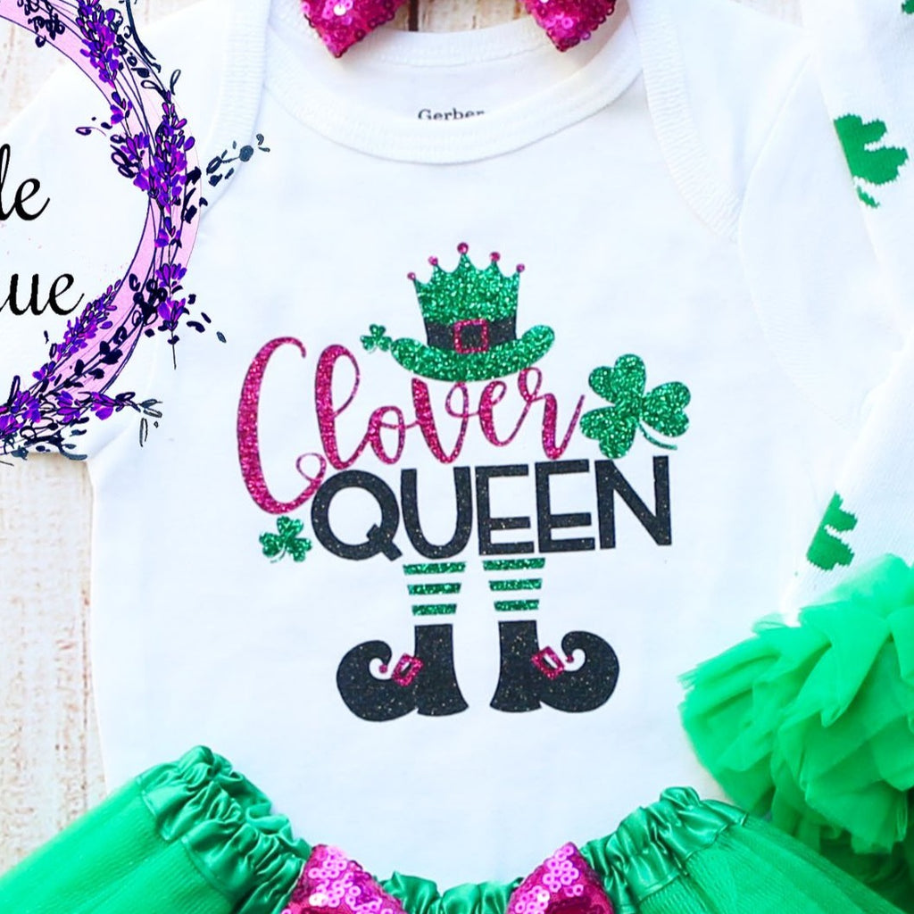 Clover Queen Baby Tutu Outfit