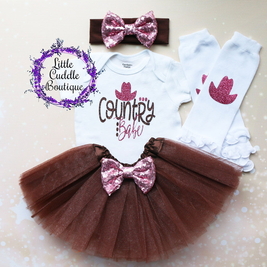 Country Babe Tutu Outfit