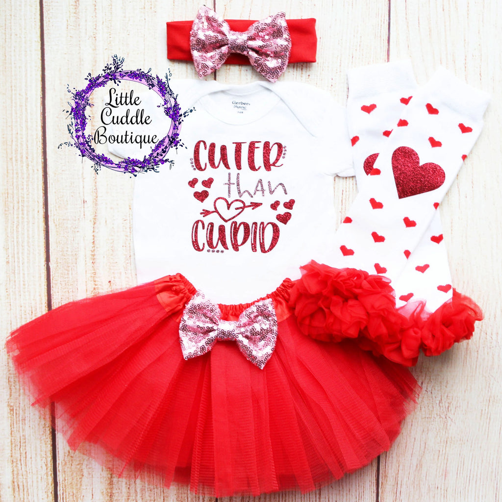 Cuter Than Cupid Tutu Outfit