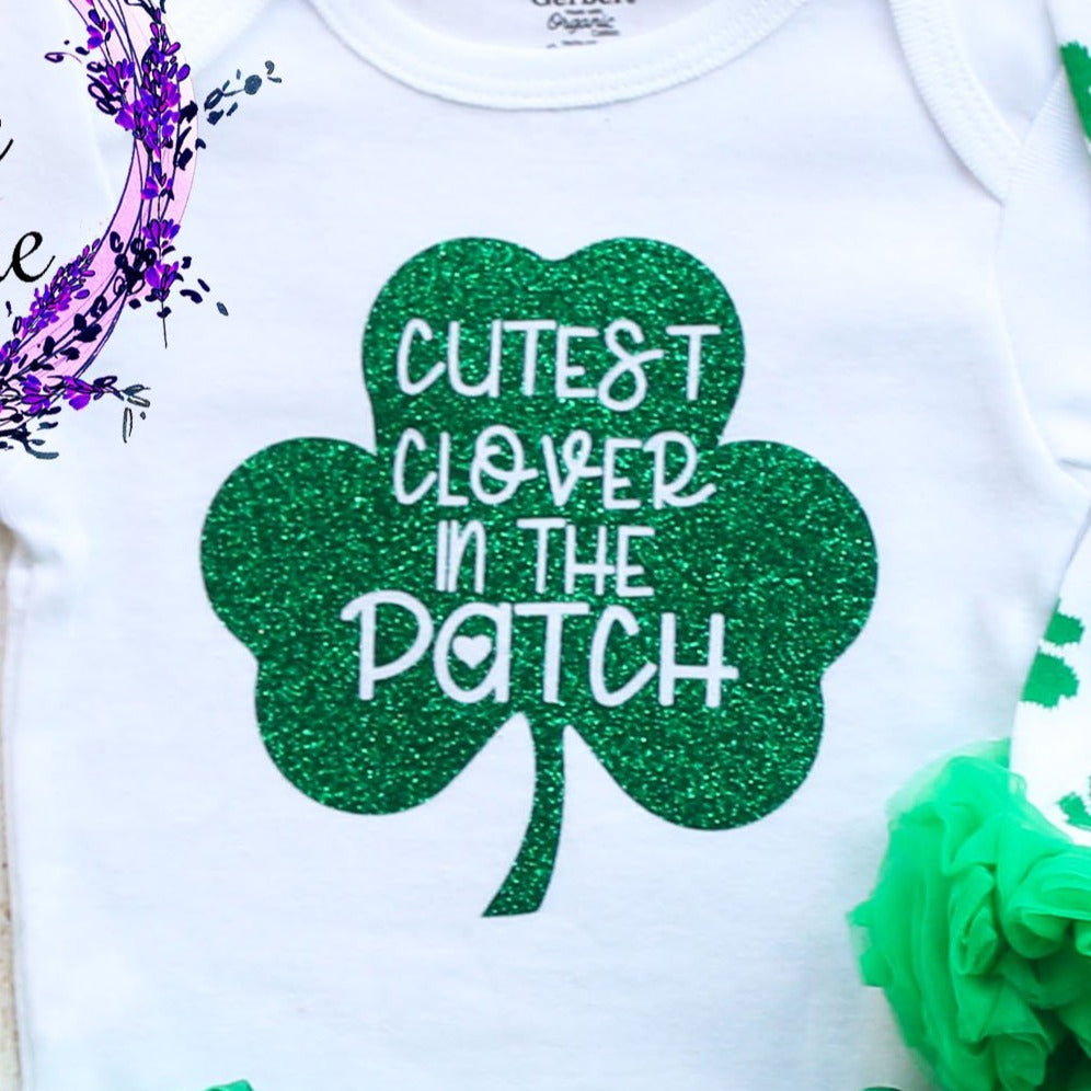 Cutest Clover In The Patch Tutu Outfit