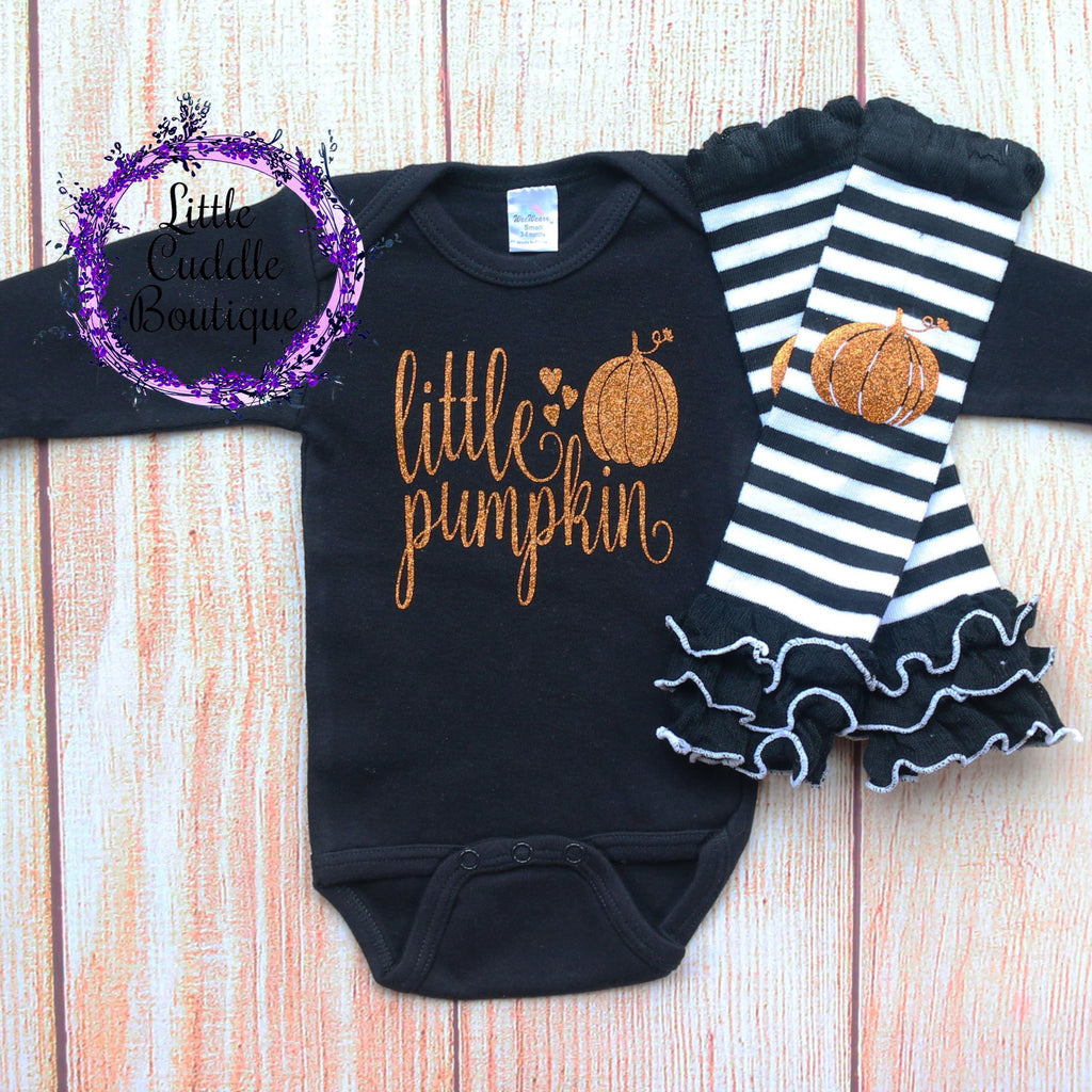 My Little Pumpkin Baby Girl Outfit