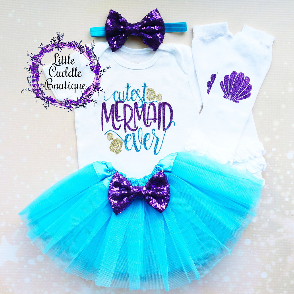 Cutest Mermaid Ever Tutu Outfit