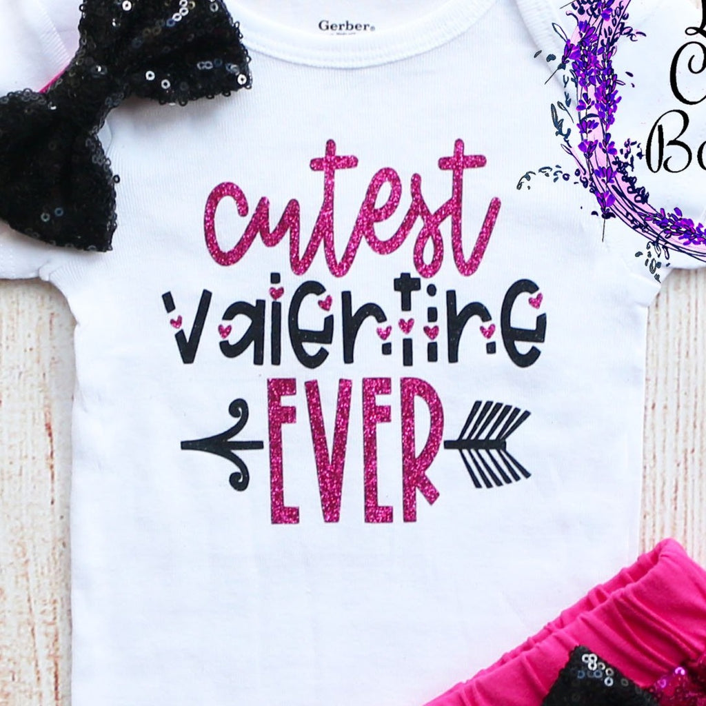 Cutest Valentine Ever Shorts Outfit