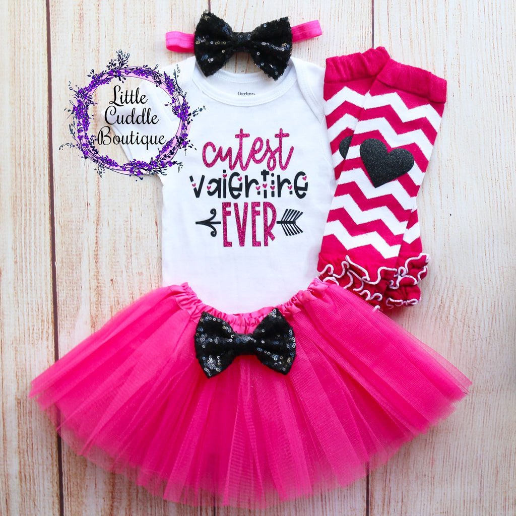 Cutest Valentine Ever Tutu Outfit