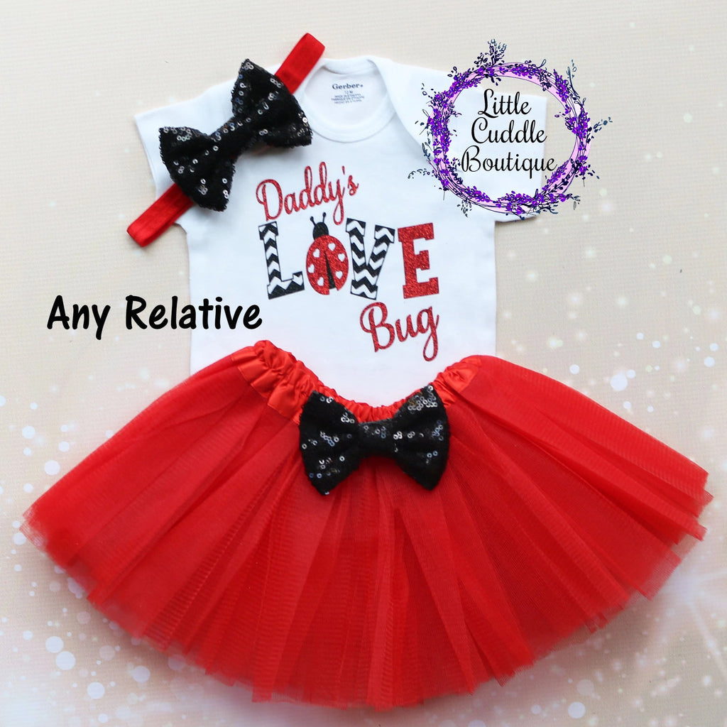 Relative Love Bug Baby Tutu Outfit