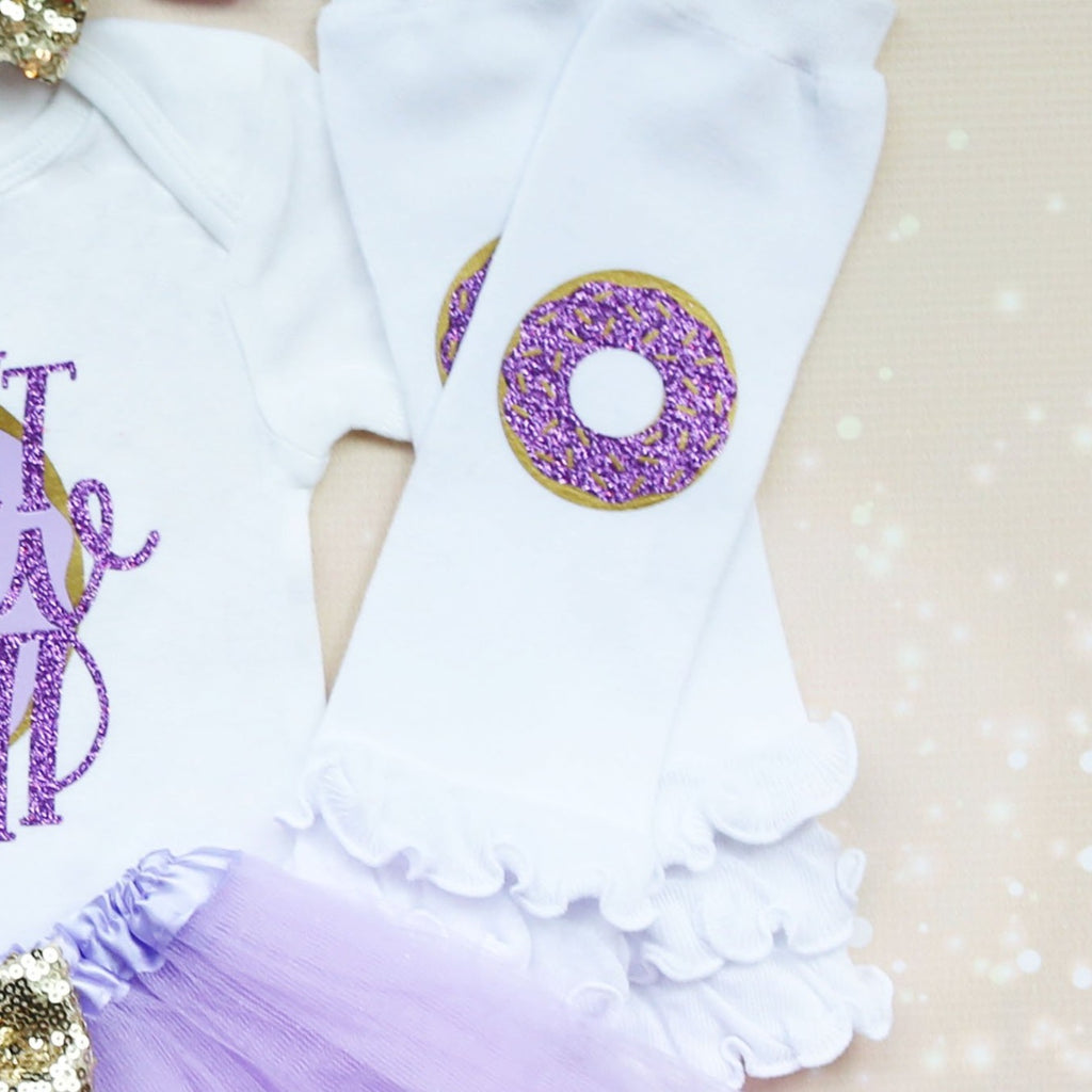 Donut Grow Up Birthday Tutu Outfit